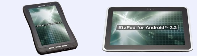 Panasonic 7 and 10.1-inch BizPad Honeycomb Tablet unveiled in Japan; Specs revealed
