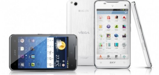 "Pantech Vega 4.5"" LTE Smartphone to be released in Korea this Month; Specs revealed"