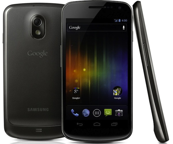 Samsung Galaxy Nexus with 4.0 Ice Cream Sandwich official; Specs and expected Release Date