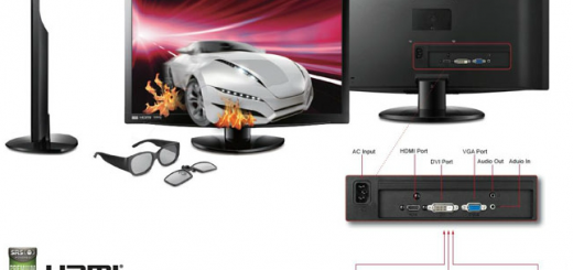 """ViewSonic releases 23"""" V3D231 3D LED Monitor; Specs and Price"""