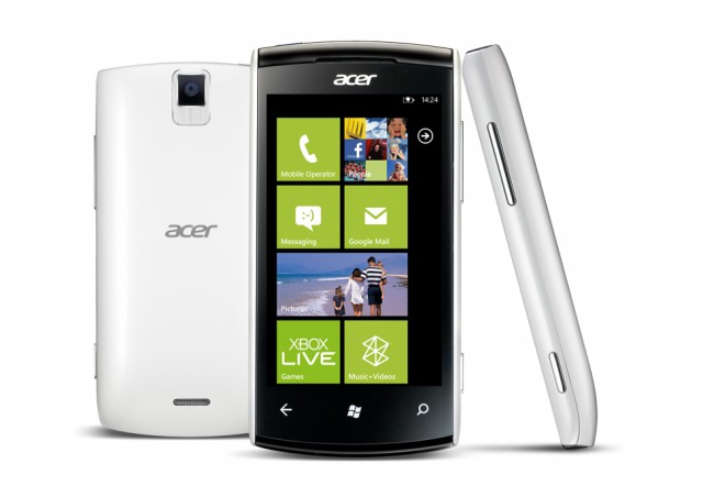Acer Allegro Windows Phone Mango unveiled; Specs, Price and Release Date