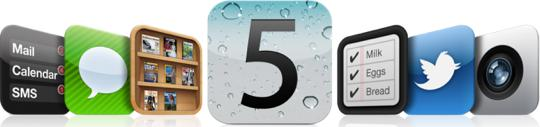 iOS 5 to be released on October 12