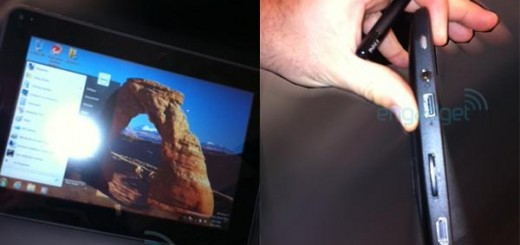 Image of Dell's new Windows 7 Tablet spotted; Dell Peju?