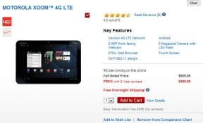 Verizon releases Motorola XOOM Tablet with 4G LTE Built-in; pricing $499 on Contract