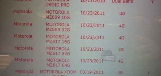 Motorola XOOM 2 with LTE on Verizon's Inventory System