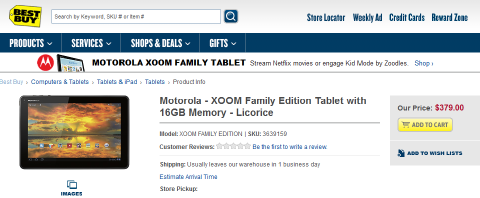 AT&T Motorola ATRIX 2 and XOOM  Family Edition released; Pricing $99 and $379