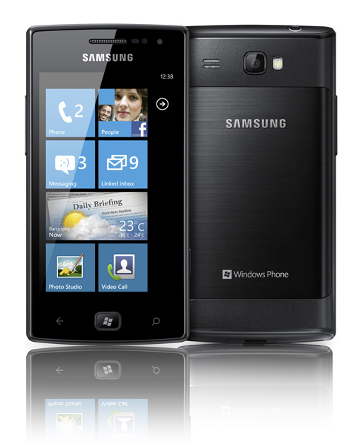 Samsung Omnia W on Sale in UK for  Price of £339.99