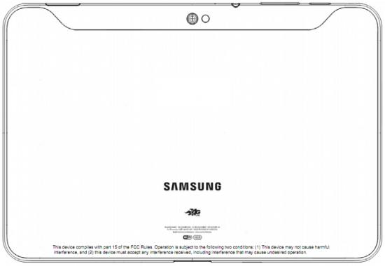 AT&T Galaxy Tab 10.1 with 4G LTE at FCC