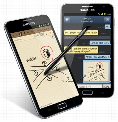Samsung Galaxy Note with LTE support announced in Korea