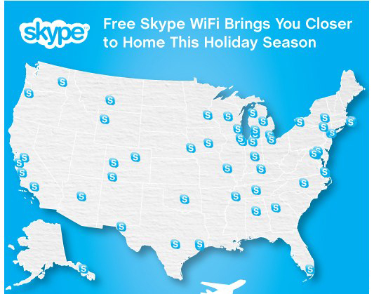 Skype Free WiFi for New York City Users on New Year's Eve