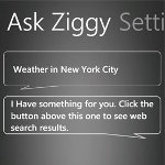 Ask Ziggy App; Siri on Windows Phone!