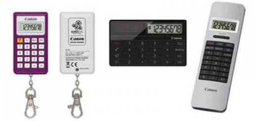 Canon EURo 2012 Calculator announced; X MARK I Card and X MARK I Pointer released