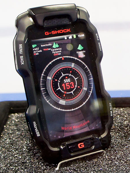 Casio G-Shock rugged Android Smartphone displayed; Specs to be revealed soon