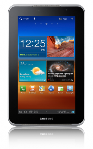 Samsung Galaxy Tab 7.0N Plus announced with Specs