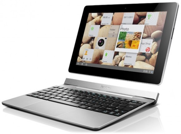 CES 2012: Lenovo IdeaTab S2 Tablet with Keyboard Dock and S2 Smartphone revealed with Specs