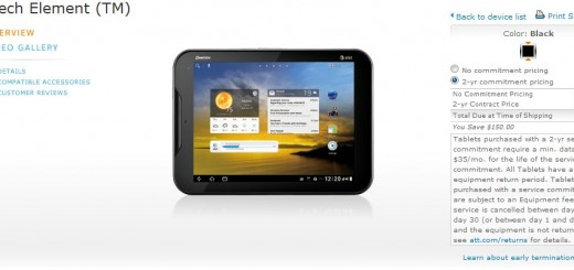 AT&T Pantech Element LTE Tablet and Burst LTE Smartphone released; pricing $299.99 and 49.99