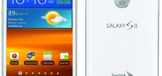 Sprint's Samsung Epic 4G Touch in Frost White announced with Release Date and Price