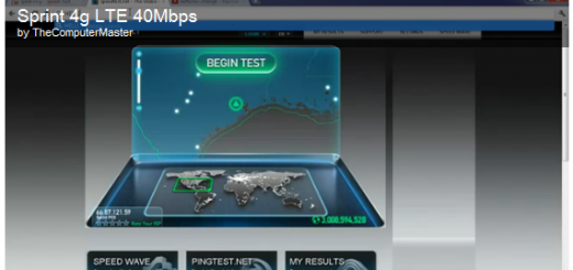 A Video testing Sprint's LTE Network spotted; 40-50Mbps download Speed on Huawei Hotspot