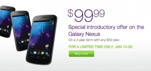 TELUS offers Samsung Galaxy Nexus for just $99 till January 26