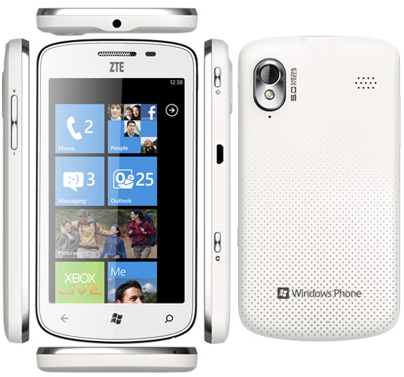 CES 2012: ZTE Tania Windows Phone Smartphone Hands-on; Specs, Price and Release Date revealed
