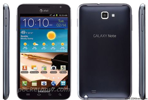 AT&T Galaxy Note almost confirmed; Press Shots leaked