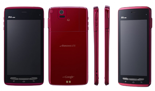 Fujitsu ARROWS ES IS12F Android Smartphone released in Japan; Specs and Price