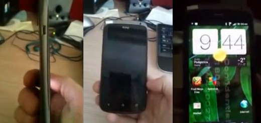 HTC Ville ICS Smartphone appears on Video with Sense 4.0