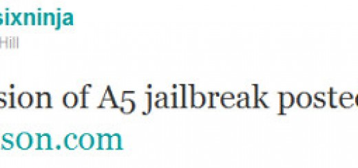 "Untethered A5 Jailbreak Tool for iPad 2 and iPhone 4s ""Greenpois0n"" released"