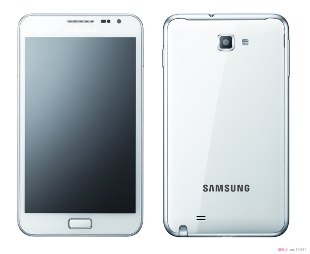 White Samsung Galaxy Note Release Date for UK