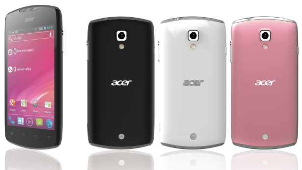 Acer Liquid Glow Ice Cream Sandwich Smartphone unveiled ahead of MWC 2012