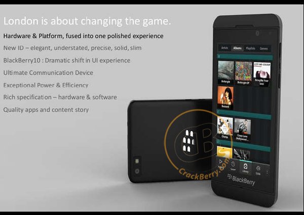 "Image of BlackBerry 10 Smartphone ""London"" spotted"