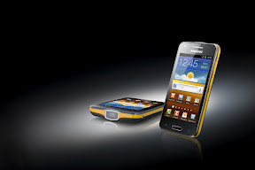 Samsung Galaxy Beam Smartphone with built-in Projector announced ahead of MWC 2012; Specs revealed