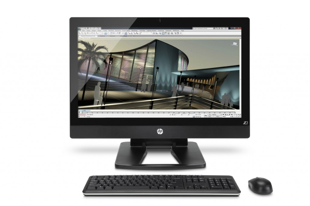 HP to release HP Z1 All-in-One Workstation unveiled; Specs and Price
