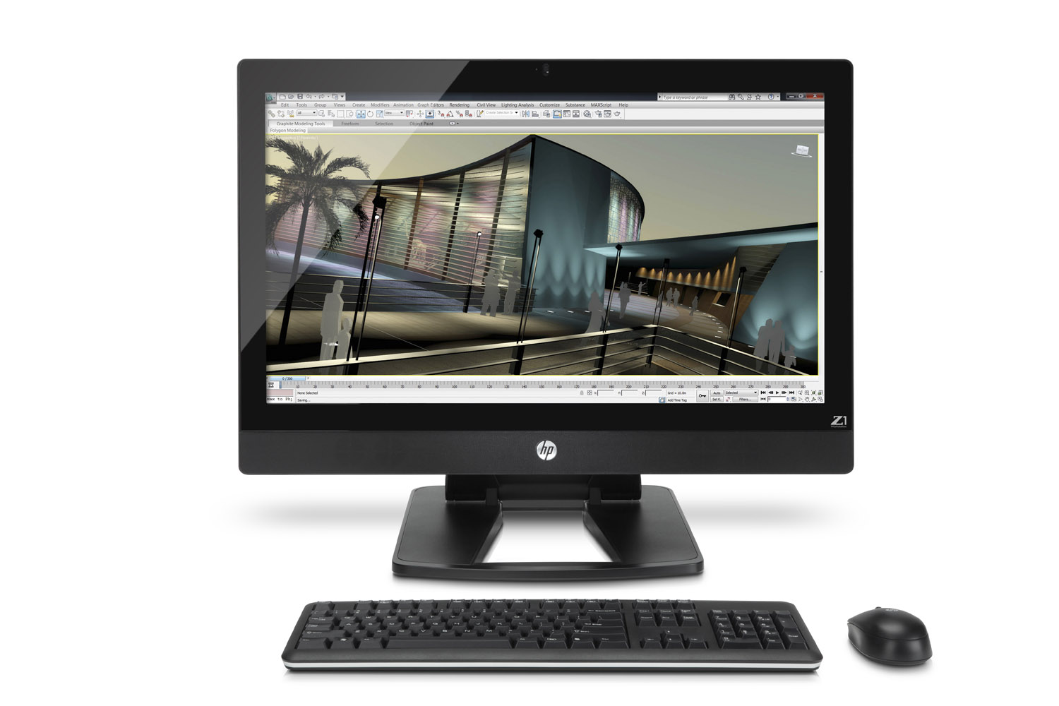 hp to release z1 all in one workstation in april specs. Black Bedroom Furniture Sets. Home Design Ideas