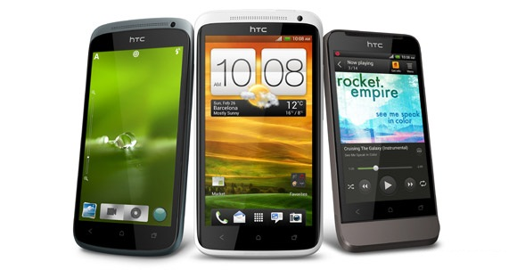MWC 2012: HTC One X, One XL, One S and One V ICS Smartphones official with Specs; release expected in April