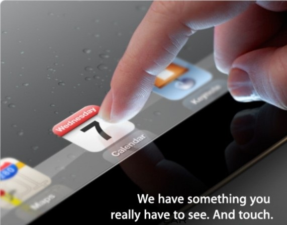 Apple to hold iPad 3 Event on March 7