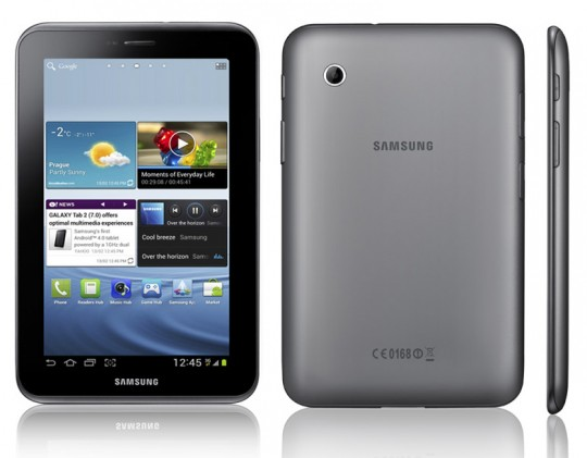 "Samsung to release Galaxy tab 2 7"" ICS Tablet in March; Specs official"
