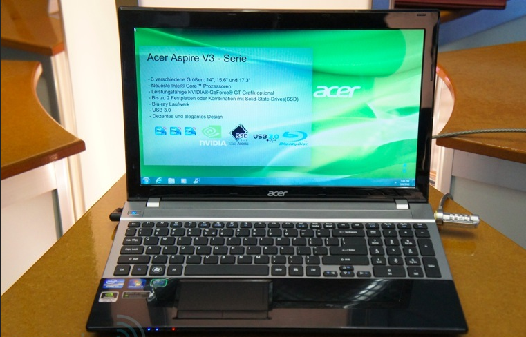 Acer Aspire V3 Series Laptops unveiled; Specs, Price and Hands-on Video