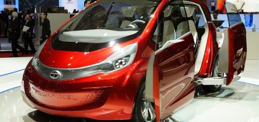 "Tata debuts new concept Model ""Tata Megapixel"" at the Geneva Motor Show"
