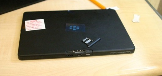 RIM BlackBerry PlayBook 4G Images leak