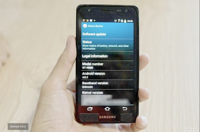 Samsung Galaxy S III with Specs revealed on Video; seems to be test Unit