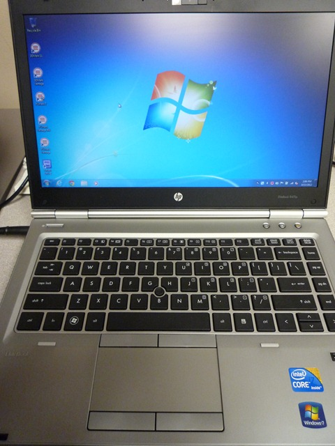 HP's new EliteBook 8470p with Ivy Bridge Chip reviewed; Specs