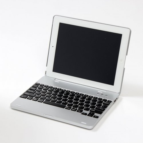 Turn your iPad into mini MacBook Pro; Macotakara iPad Case with built-in Keyboard