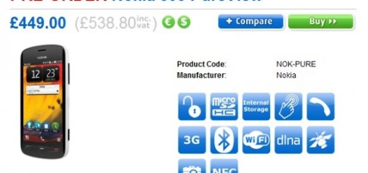 Nokia 808 PureView goes on Pre-order in UK via Clove