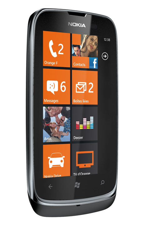 Nokia Lumia 610 NFC Windows Phone announced