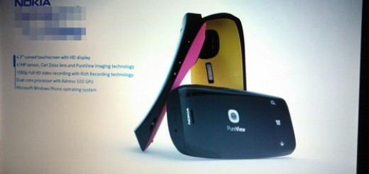 Nokia Lumia PureView WP Smartphone Images leak with Specs