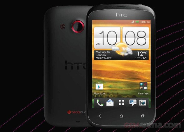 HTC Desire C Press Shot and Specs spotted on Vodafone Portugal