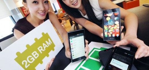 LG Optimus LTE2 with 2GB RAM announced; releasing by mid-May in Korea