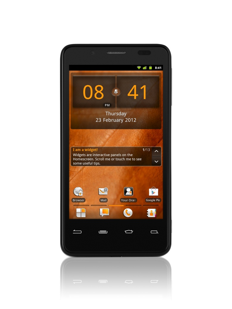 Orange San Diego Intel-based Smartphone official; Specs ...