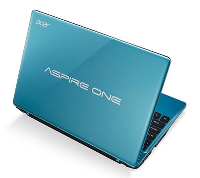 "Acer Aspire One 725 11.6"" Netbook official with Specs"